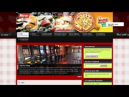 www.pizzaplaza.sk