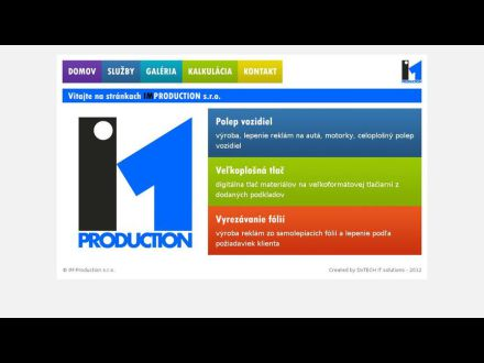 www.improduction.sk