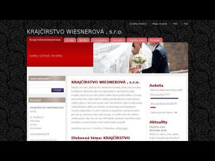 www.krajcirstvowiesnerova.sk