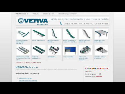 www.verva-tech.cz
