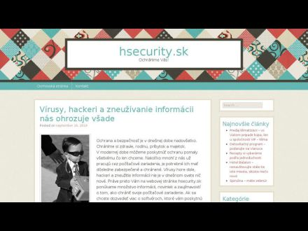 www.hsecurity.sk