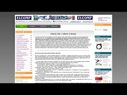 www.shop.elcomp.sk
