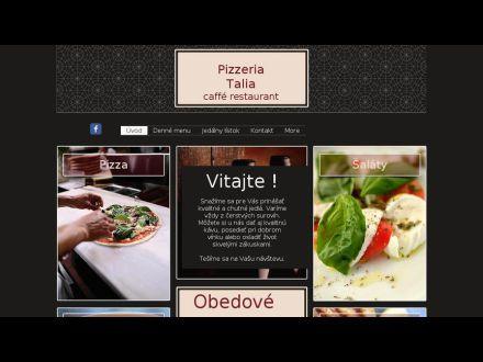 www.pizzeriatalia.sk