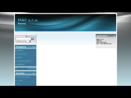 www.macsro.sk