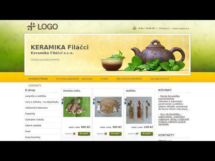 www.keramikafilacci.cz