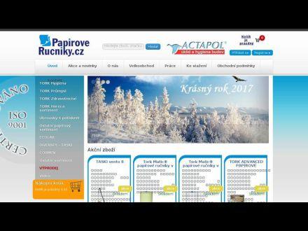 www.papiroverucniky.cz