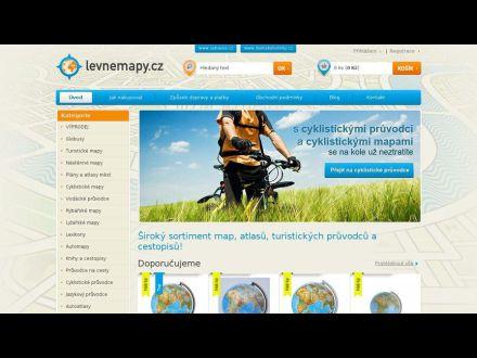www.levnemapy.cz