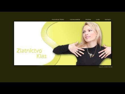 www.zlatnictvoklas.sk