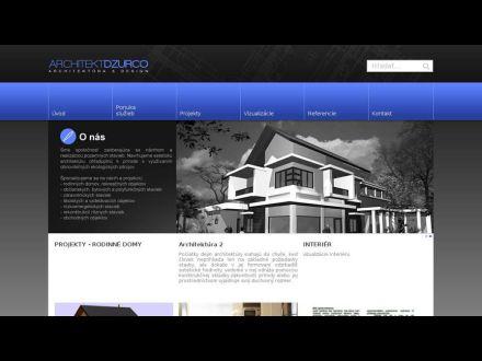 www.architektdzurco.sk