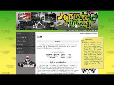 www.motokarytatry.sk