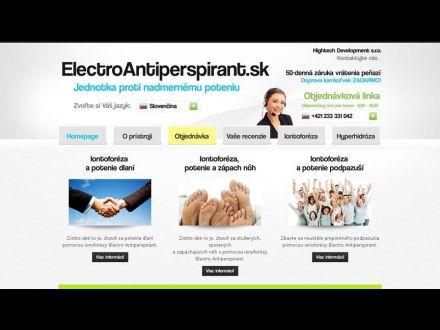 www.electroantiperspirant.sk