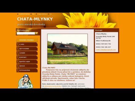 www.chata-mlynky.webnode.sk