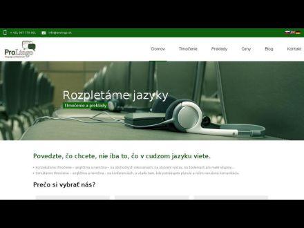 www.prolingo.sk