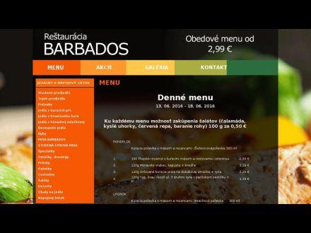 www.restauracia-barbados.sk