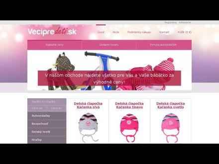 www.vecipredeti.sk