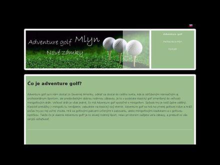 www.adventuregolfmlyn.sk