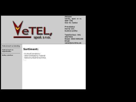 www.vetel.sk