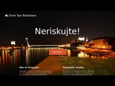 www.drink-taxi-bratislava.sk