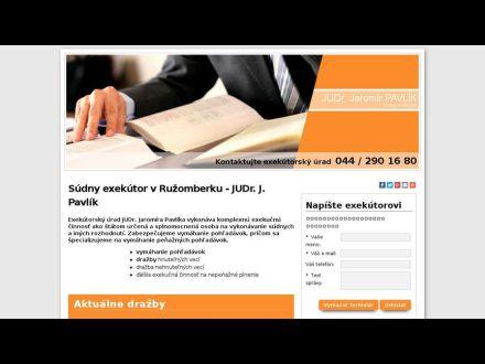 www.sudnyexekutor-ruzomberok.sk