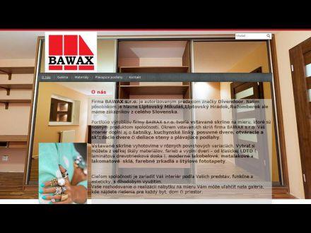 www.bawax.sk