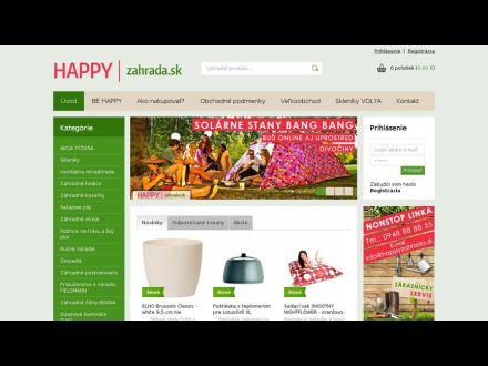 www.happyzahrada.sk