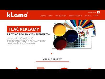 www.klemo.sk