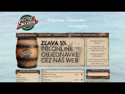 www.pizzeriasicilia.sk