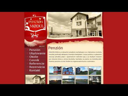 www.penzionmodul.sk