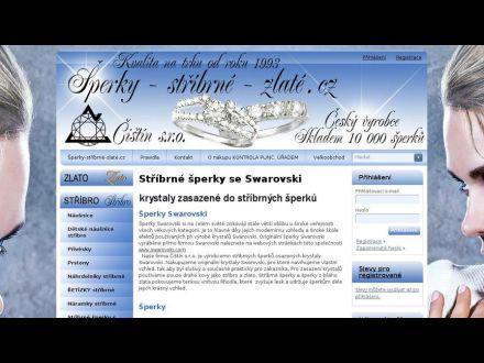 www.sperky-stribrne-zlate.cz