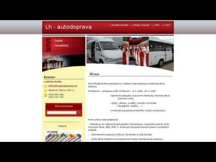 www.lh-autodoprava.webnode.cz
