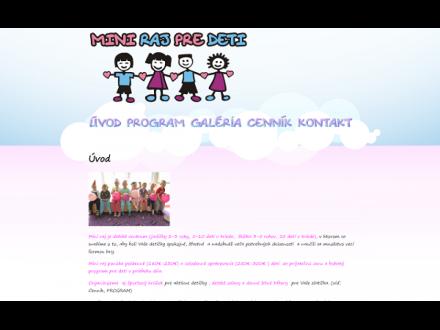 www.miniraj.sk