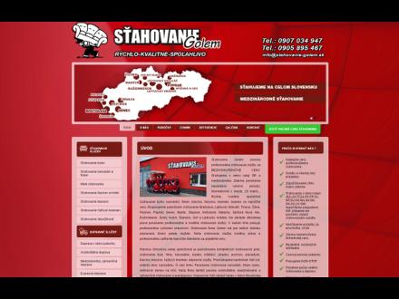 www.stahovanie-golem.sk