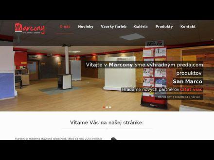 www.marcony.sk