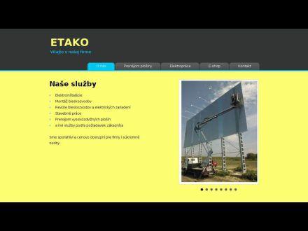 www.etako.sk