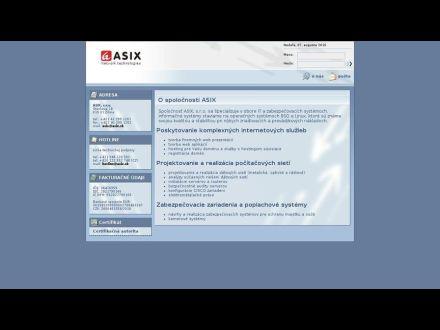 www.asix.sk