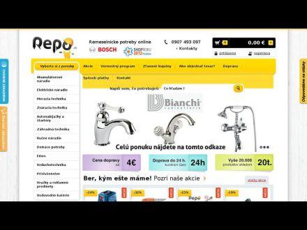 www.repo.sk