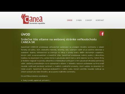 www.canea.sk