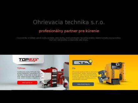 www.ohrievaciatechnika.sk
