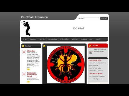 www.paintball-Kremnica.webnode.sk