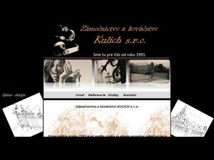 www.zamocnictvokulich.sk