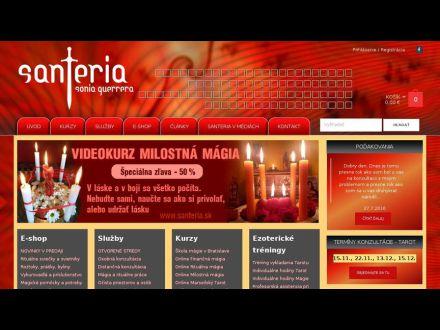 www.santeria.sk
