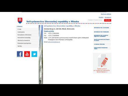 www.mzv.sk/web/minsk