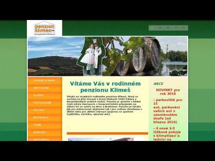 www.penzion-klimes.cz
