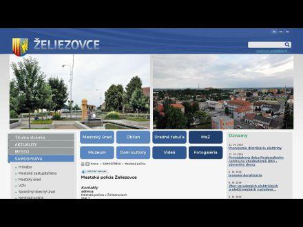 www.zeliezovce.sk/mestska-policia/
