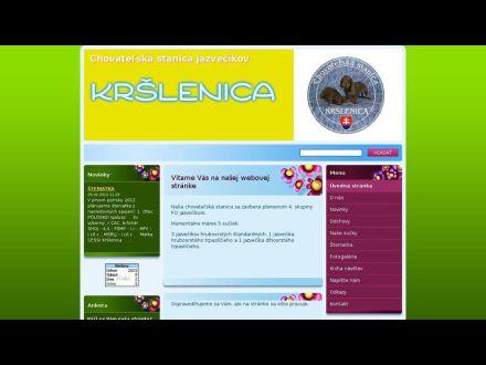 www.jazvecik-krslenica.webnode.sk