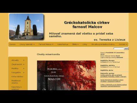 www.farnostmalcov.sk