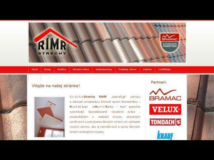www.strechy-rimr.sk