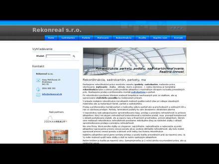 www.rekonreal.sk