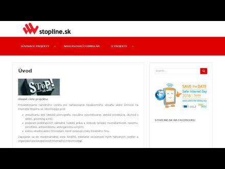 www.stopline.sk