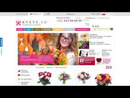 www.kvety.sk